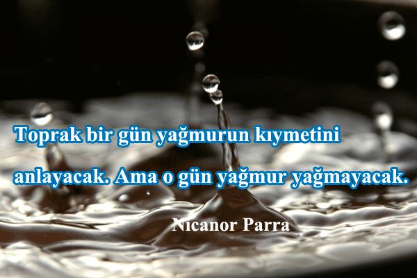 Yağmurla İlgili Sözler