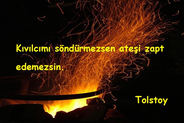 Ateşle İlgili Sözler