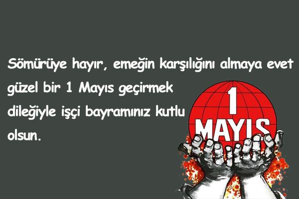 1 Mayıs Kutlama Sözleri