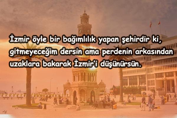 İzmir İle İlgili Güzel Sözler
