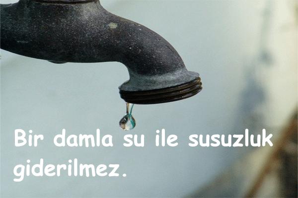 Su İle İlgili Güzel Sözler
