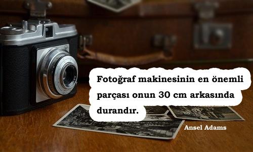 Fotoğrafçı Sözleri
